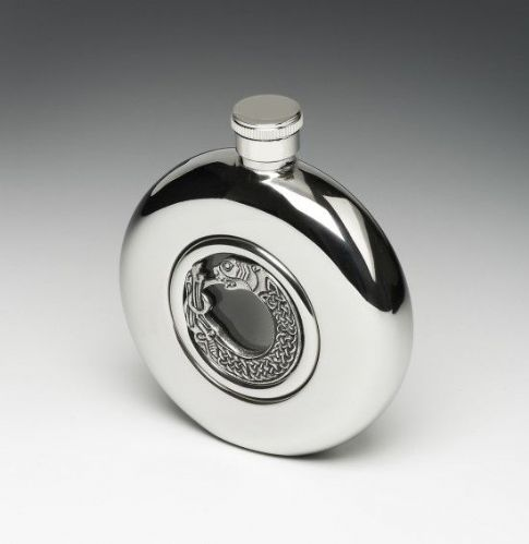 Celtic Pewter Hip Flask